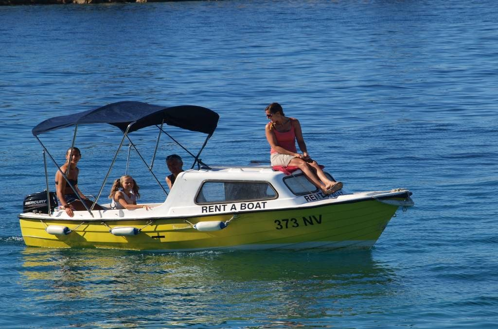 Rent a boat Tweety Pag